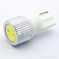 1W T10 White Wedge Signal Indicator Lights  3
