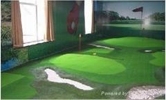 室内迷你高尔夫球场人工果岭