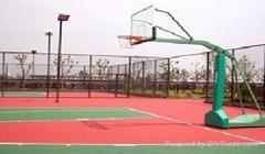 篮球运动场地设计铺建