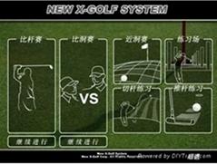 韩国X-golf室内模拟高尔夫