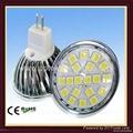 3w SMD5050 MR16 led spotlight