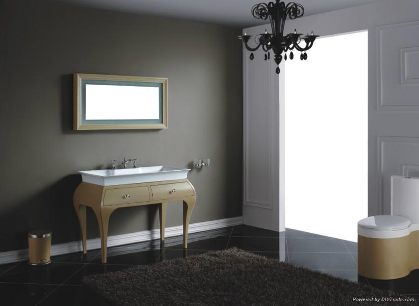 Artificial stone bathroom cabinet 2010 4