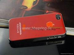 超薄糖果iphone4手机金属壳