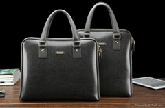 fashion men leather handbag