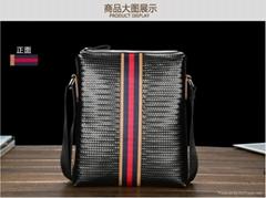 new style men leather shoulder bag