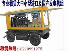 北京柴油發電機租賃