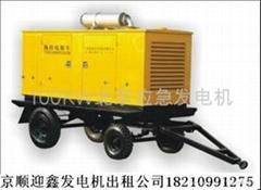 北京100KW發電機租賃