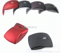 2.4GHZ folding wireless optical mouse