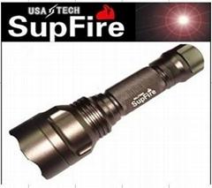 強光手電筒 神火 SupFire Q5 LED M3鈦色