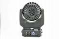 10-53 degree zoom Osram 10W 19pcs 4in1 moving head 2