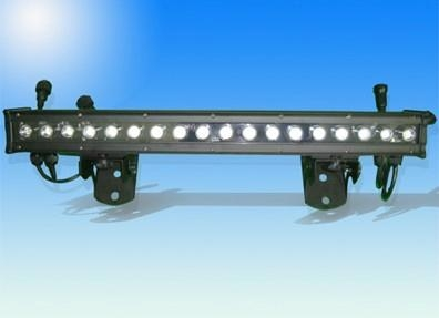 Waterproof IP66 led wall washer light 1w*18pcs Edisons RGB lamps  1