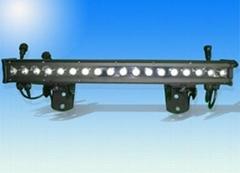 Waterproof IP66 led wall washer light 1w*18pcs Edisons RGB lamps