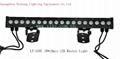 Waterproof IP66 led wall washer light 1w*18pcs Edisons RGB lamps  2