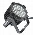 Waterproof IP67 3W*54pcs RGBWA LED Par