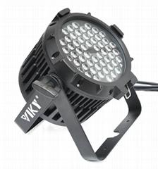 Waterproof IP67 3W*54pcs RGBWA LED Par stage Light