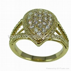 纯银戒指Ring PER7221