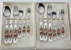 12 pieces promotion dinnerware set