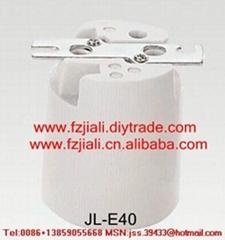 E39 porcelain lampholder