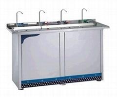 不鏽鋼直飲水機-4出水龍頭