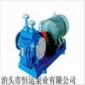 LQB瀝青齒輪泵規格型號