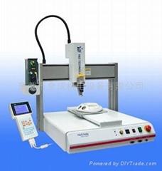 YD7400手機配件自動點滴膠機