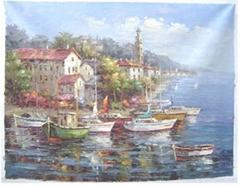 地中海油畫