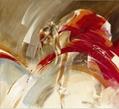 芭蕾女孩手繪油畫 3
