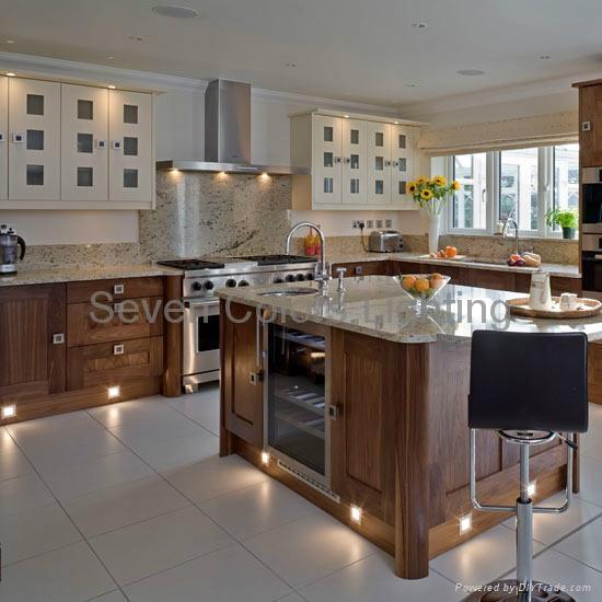 Indoor Kitchen LED Plinth Light Square SCBA Seven Colors - Kitchen plinth lights square