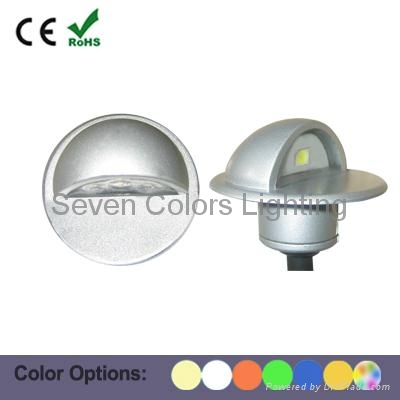 Lovely 12 Volt Outdoor LED Step Light (SC B106B) 1 ...