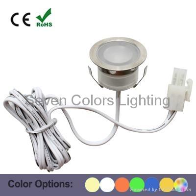 30MM Round Mini LED Plinth Light (SC-B105A) 1