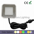 Outdoor Recessed Square LED Stair Light