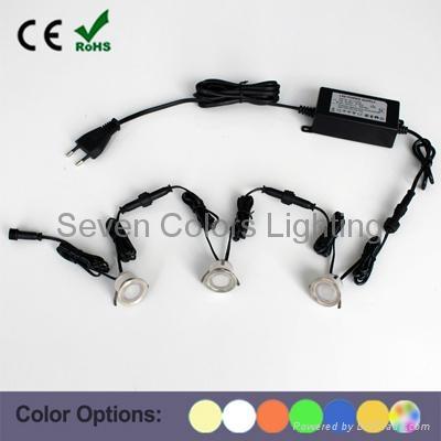 10 X 30MM Mini LED Deck Light Kit Round (SC-B105B) 1