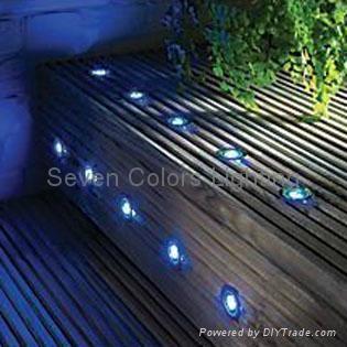 10 X 30MM Mini LED Deck Light Kit Round (SC-B105B) 3