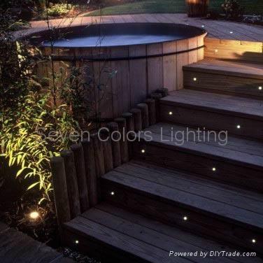 10 X 30MM Mini LED Deck Light Kit Round (SC-B105B) 5