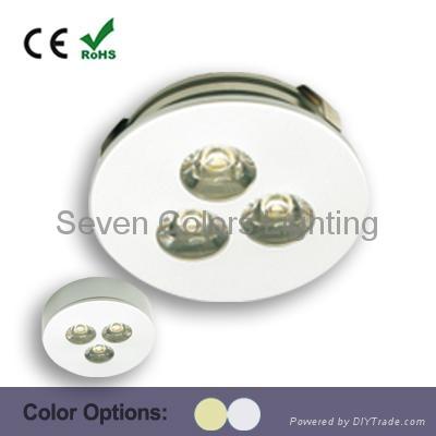3W High Power LED Under Cabinet Puck Light (SC-A109A) 1