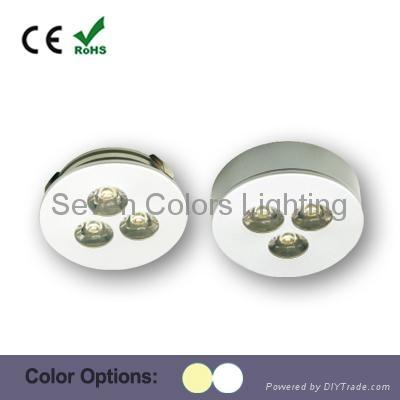 3W High Power LED Under Cabinet Puck Light (SC-A109A) 3