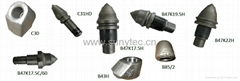 rock drilling teeth