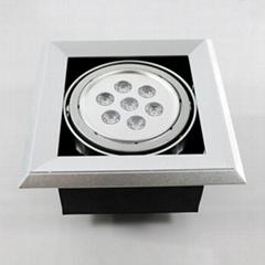 7W Led Grille Light Ceiling Light