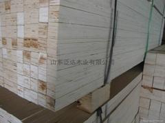 供应优质单板层积材杨木LVL门芯材