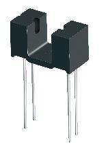亿光光耦光电开关ITR9707-F对射/反