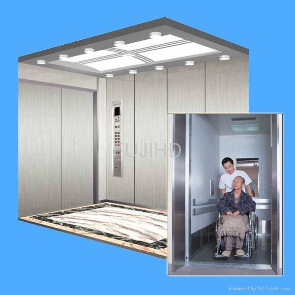 Hospital bed elevator lift china fujihd china for Home elevators direct