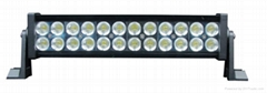 Hot !!! 72W high power offroad  LED driving light bar/4X4 light bar for jeep