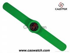 LED Digital Silicone Slap Watch