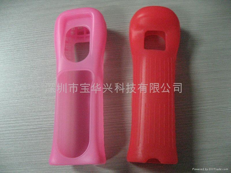 WII防原裝手柄硅膠套 2