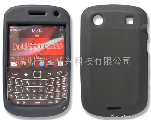 黑莓9900硅膠套 1