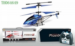 3 CHANNEL R/C HELICOPTER WITH GYRO
