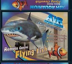 4CH R/C Air Swimmers Fish/Shark