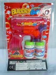 Spider man bubble gun