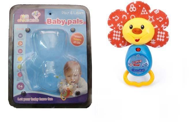 B/O light musical cloth plush toys 3