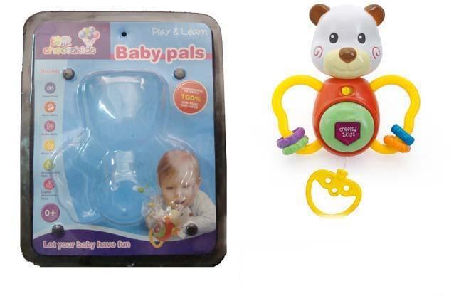 B/O light musical cloth plush toys 4